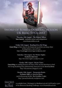 Sword of Rome blog tour
